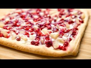 Ленивая Пицца со сгущенкой на десерт к чаю, ешь хоть каждый день!