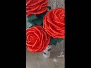 Торшер светильник -Розы)