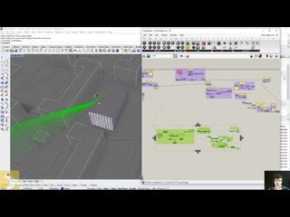 Grasshopper - Автоматический расчет инсоляции - как работает