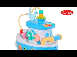 ТМ _Smart Baby_ Развивающая игрушка _Кораблик_ , 29 звуков, стихов, мелодий.