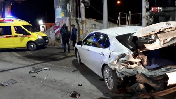 Жесткое ДТП произошло в Сургуте, есть пострадавшие...