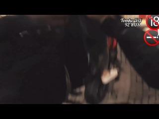 Томко В.В BMW S1000 RR,После заправки ,девушка попутчица загорелась желанием пролететься без шлема,впервые таких вижу девушек 😬