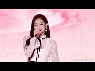 171028 BLACKPINK - STAY (Jennie focused) @ Pyeongchang Music Festa