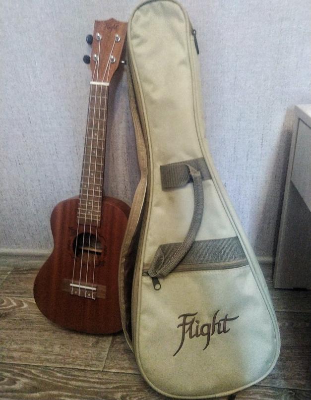 Добрый день. Продаю свою любимую укулеле модель(flight nuc310). Была приобретена...