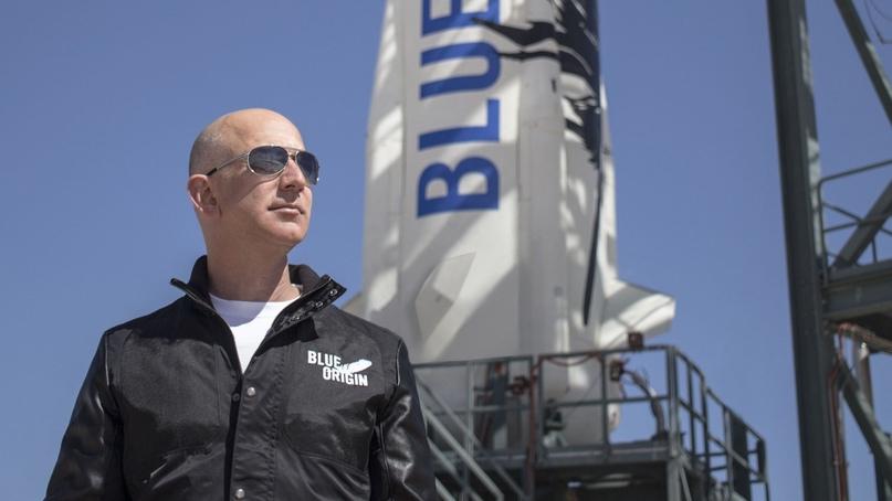 ⚡ New space: Джефф Безос, владелец компании Blue Origin и один из богатейших люд...