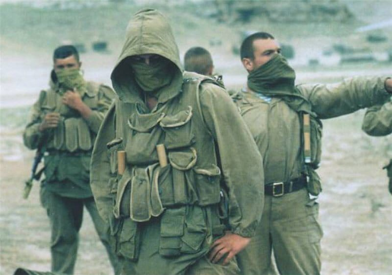 Потери в подразделениях (ооСпН и в/ч 92154) ГРУ в годы второй кампании в Чечне.