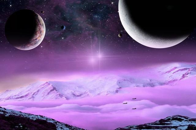 Бесконечность Вселенной - стихи о звездах, планетах, космических телах и явлениях