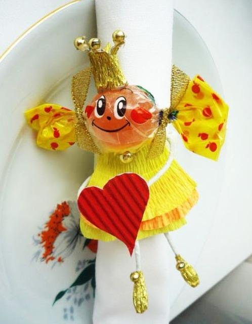 Конфетные малыши для любого праздника - МК и идеи, как сделать куколку из конфет своими руками, как сделать конфетную первоклассницу своими руками мастер-класс,