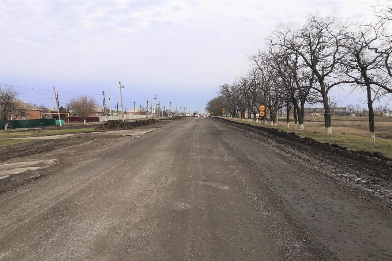 Под Таганрогом в Матвеевом Кургане начался капремонт внутрипоселковой улицы Советской