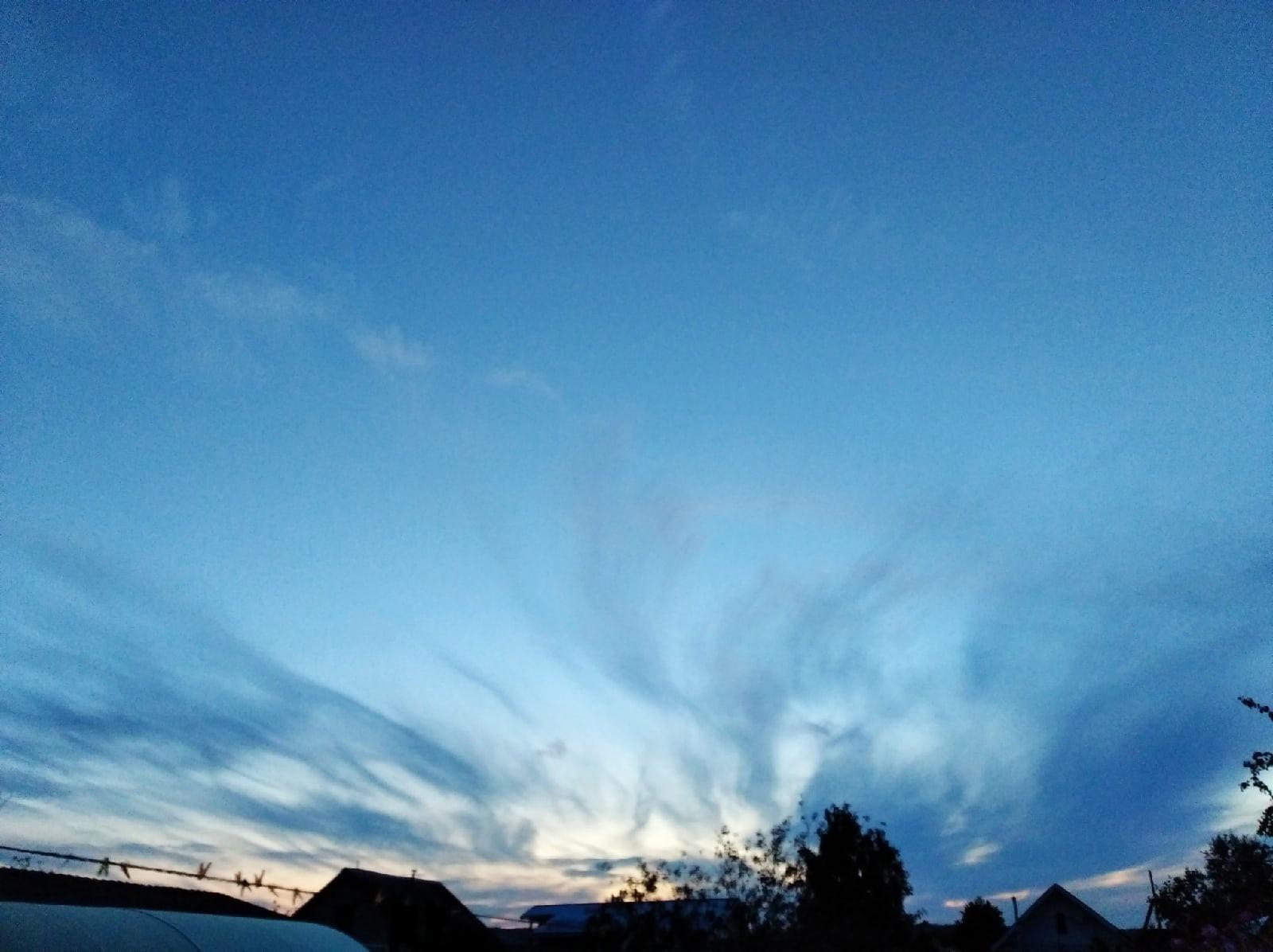 Классный закат 17.07.2021Спокойной ночи, Можгатудей!