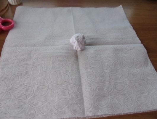 Как сделать ангела из бумажной салфетки своими руками,