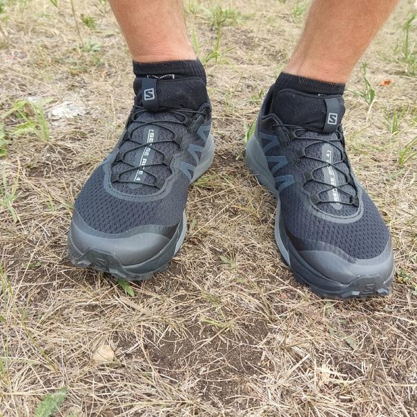 Отзыв на кроссовки Salomon Sense Ride 4 от нашего друга