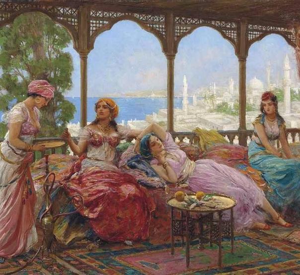 У одного султана было четыре жены