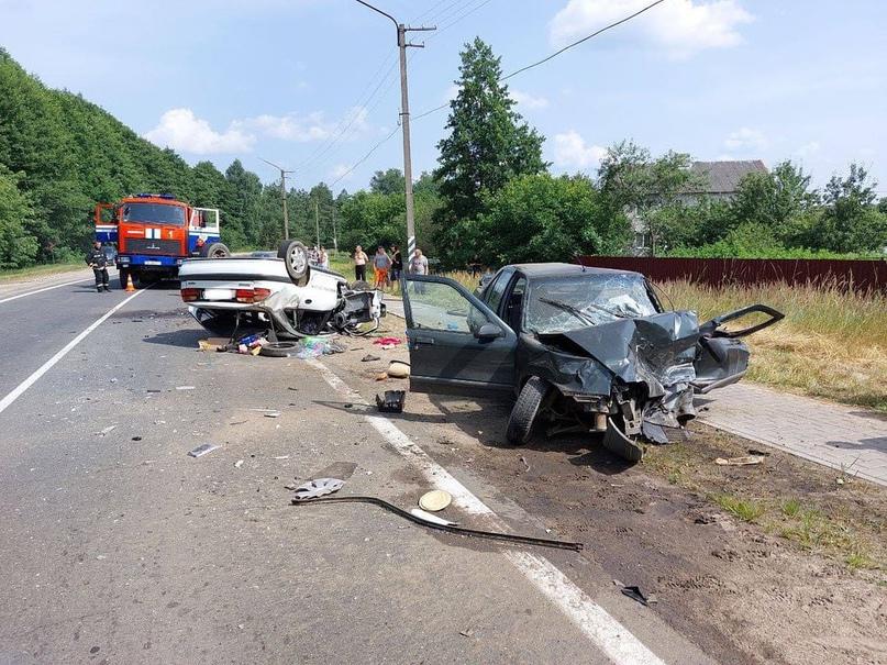 ️Серьезное ДТП в Осиповичах: 1 человек погиб, 4 - в больнице