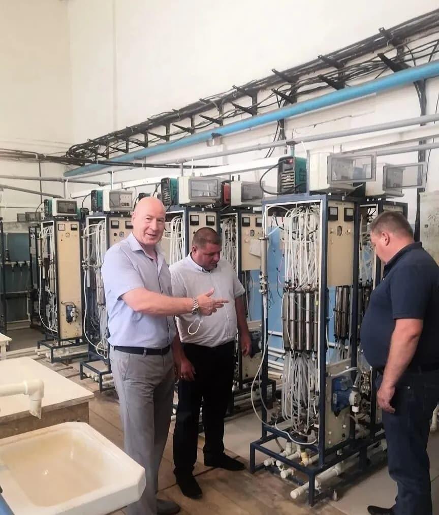 Петровчане изучили опыт города Балаково в вопросах организации качественного водоснабжения и водоотведения