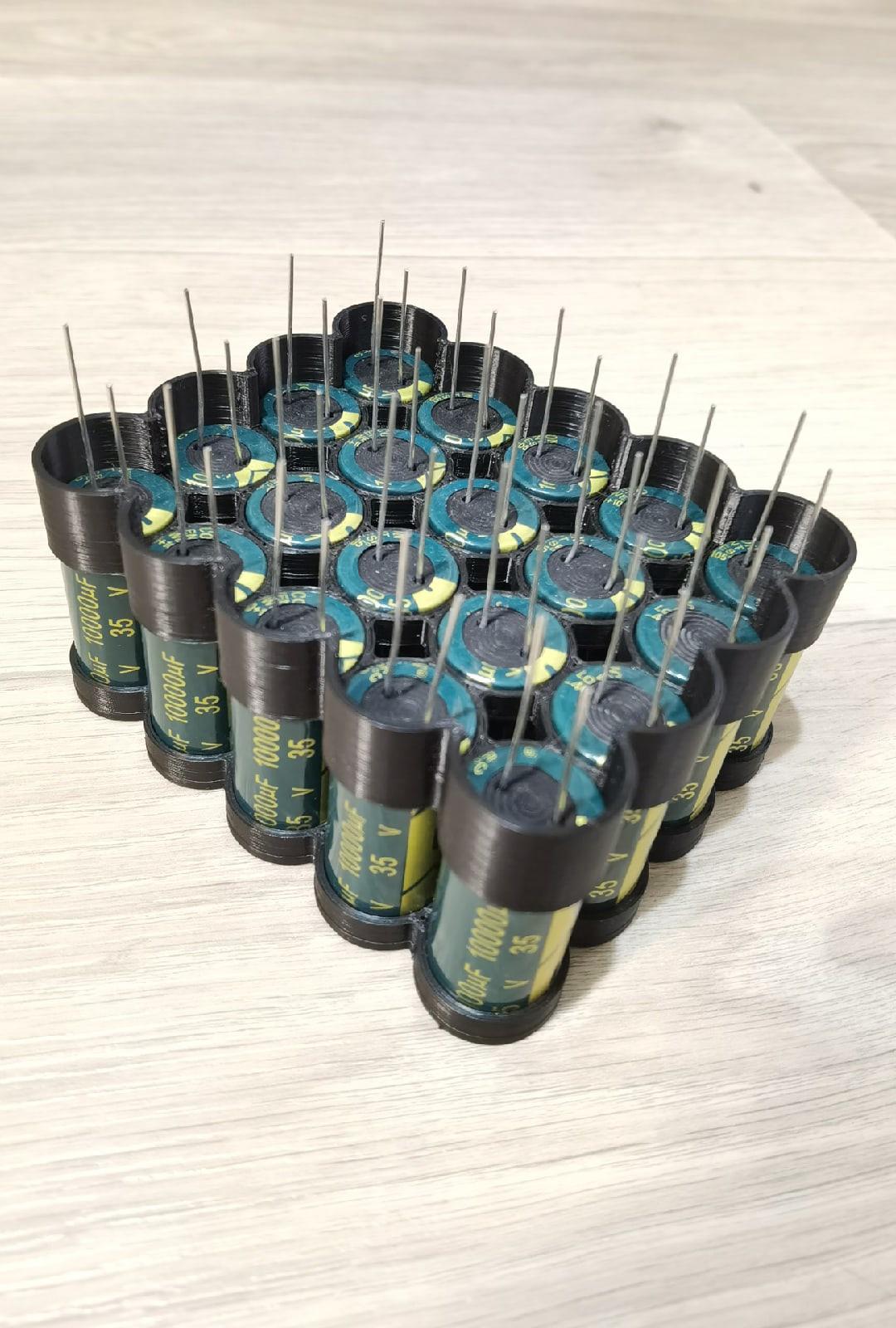 конденсаторная сборка точечной сварки