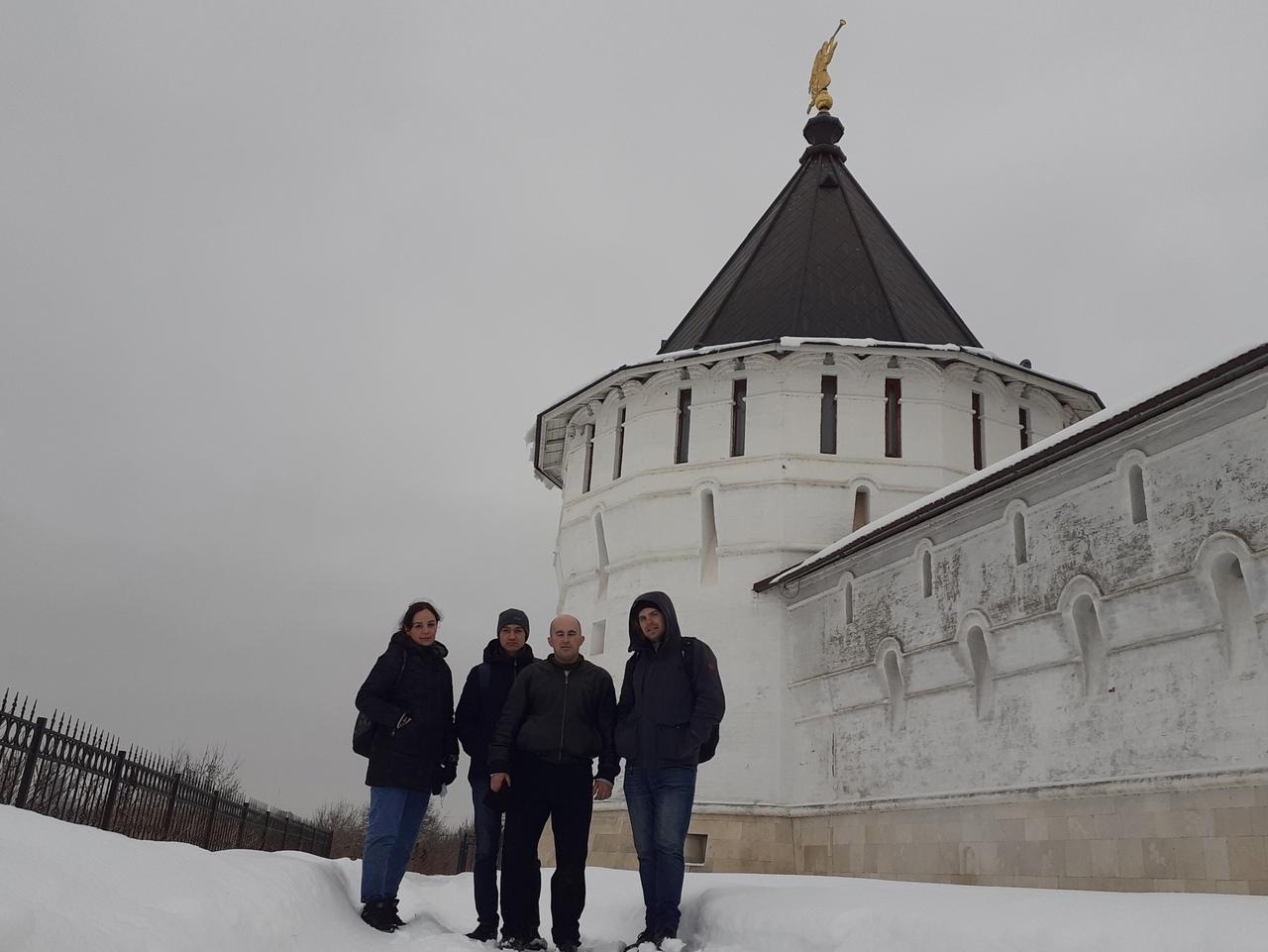 Старинный город Серпухов. Высоцкий монастырь и Серпуховский Кремль