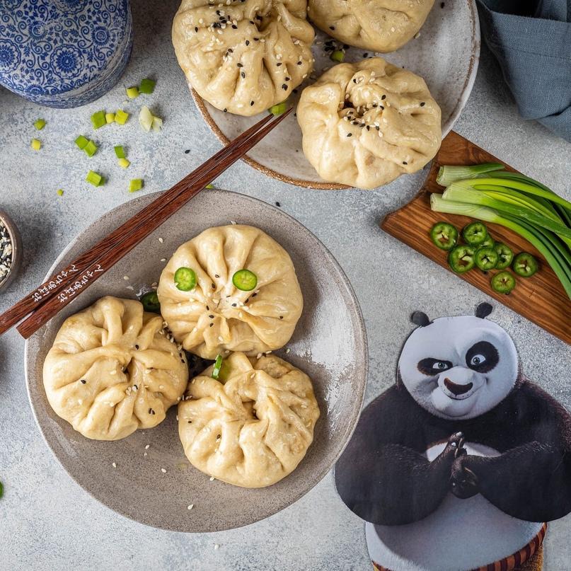 «Кунг-фу панда»: баоцзы 🥟