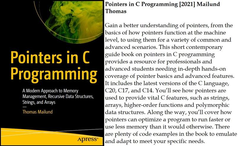 Pointers in C Programming [2021] Mailund Thomas