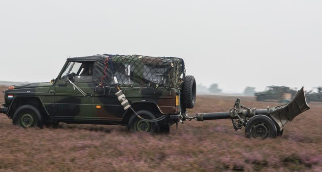 Миномет армии Нидерландов