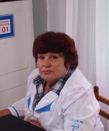 Смитюхова Вера Николаевна – медицинская сестра, стаж работы 37 лет.
