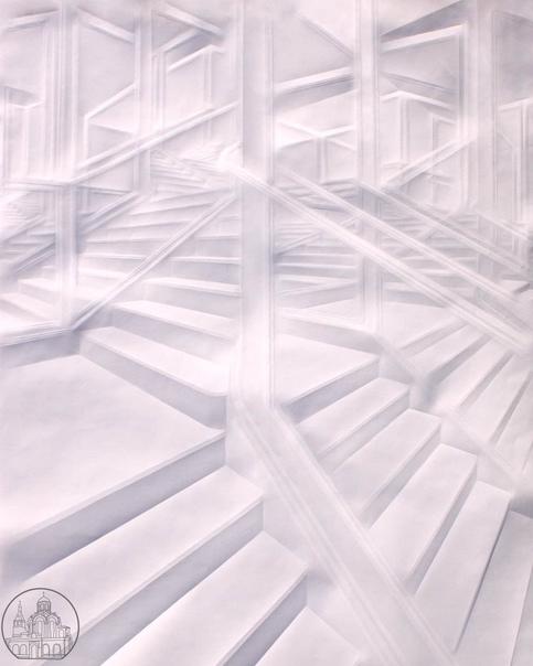 Бумажные шедевры 😍Немецкий художник Саймон Шуберт ...