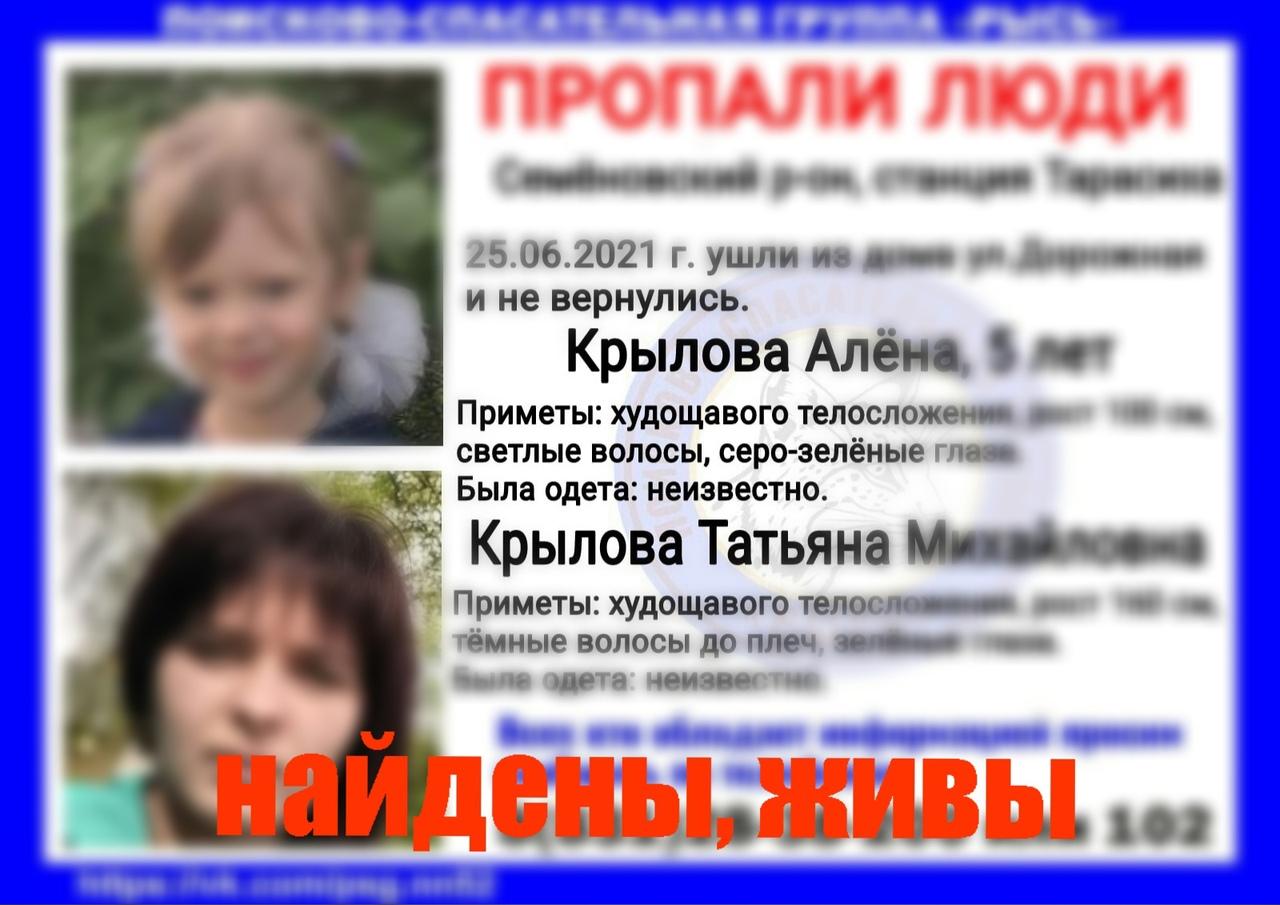 Крылова Алёна, 5 лет, Крылова Татьяна Михайловна, 1994 г.р., Семёновский район, станция Тарасиха