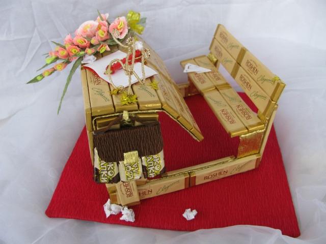 Парта из шоколадок - сладкий подарок для школьников и педагогов своими руками, как сделать школьную парту из конфет своими руками,