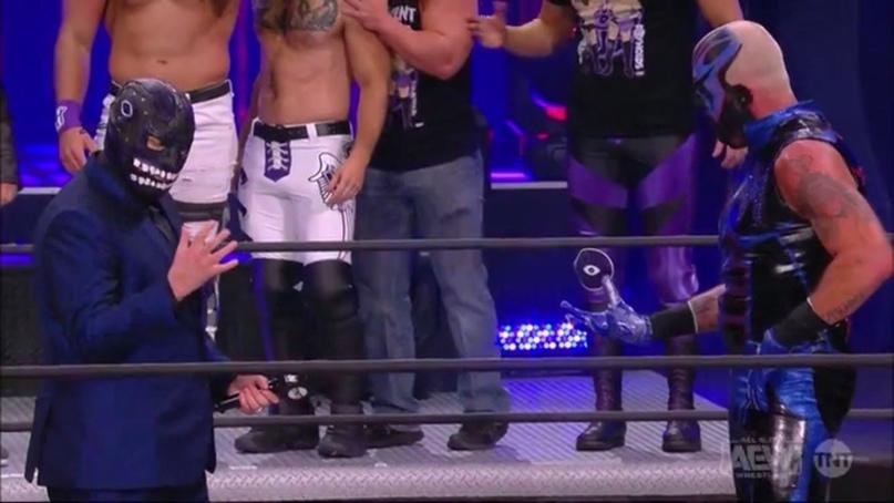 AEW Dynamite и WWE NXT 09.12.20, изображение №4