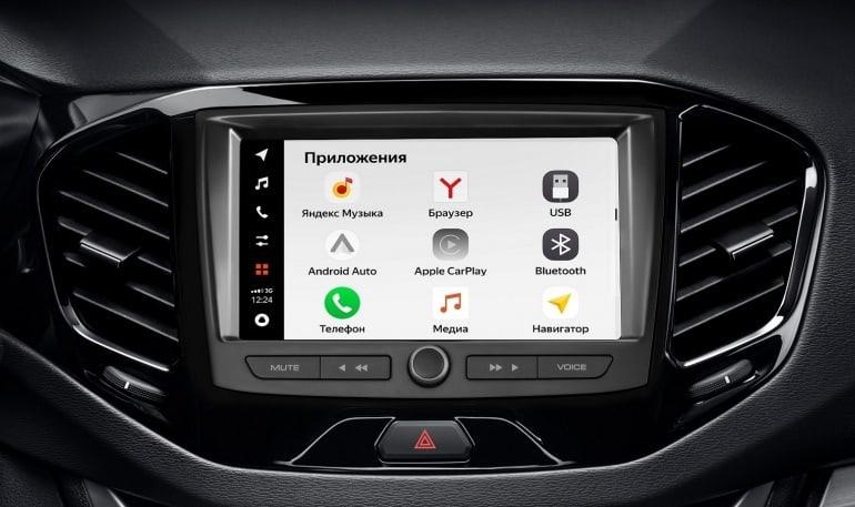 АВТОВАЗ презентовал новую мультимедийную систему EnjoY Pro