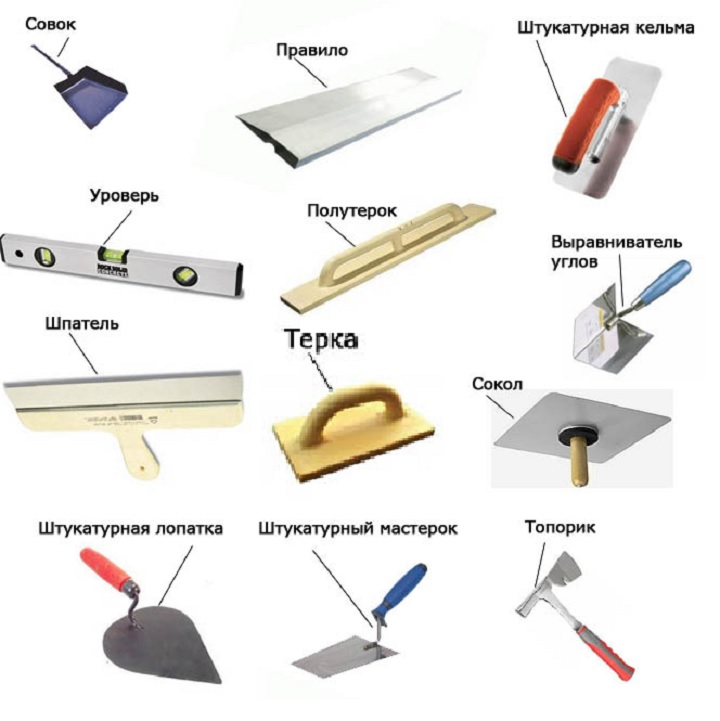 Инструменты для выравнивания