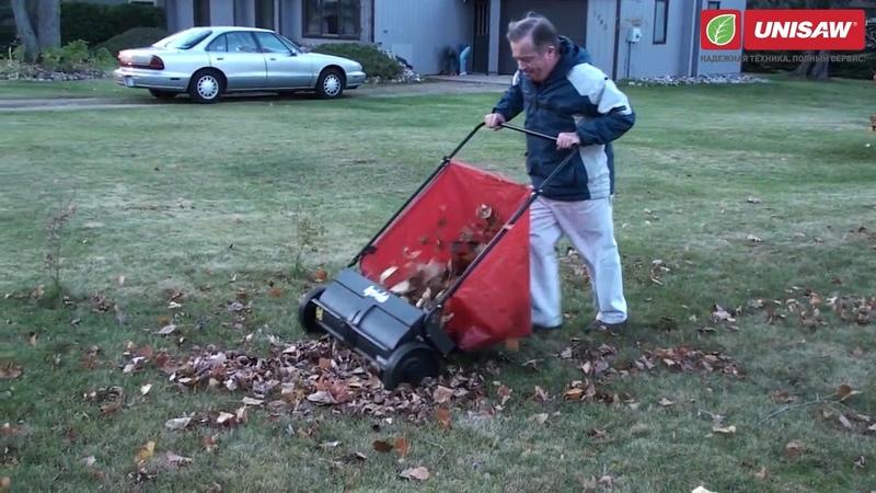 Механический садовый пылесос для уборки листьев - Agri-Fab 26