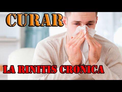 Como combatir rinitis crónica en una semana Remedios caseros para la rinitis y sinusitis