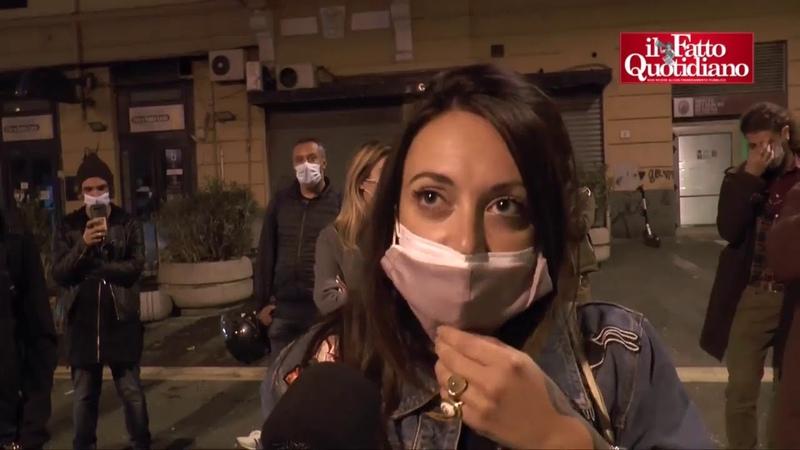 Napoli la protesta di titolari di bar alla vigilia del coprifuoco Andremo in bancarotta