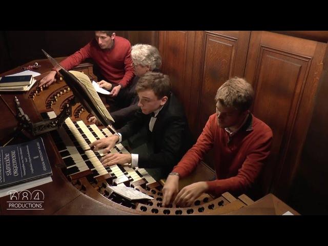 Saint Sulpice organ Thomas Ospital plays Duruflé Prélude Adagio Choral varié 1 3 15 Nov 2015
