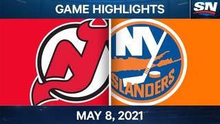 NHL Game Highlights   Devils vs. Islanders - May 8, 2021
