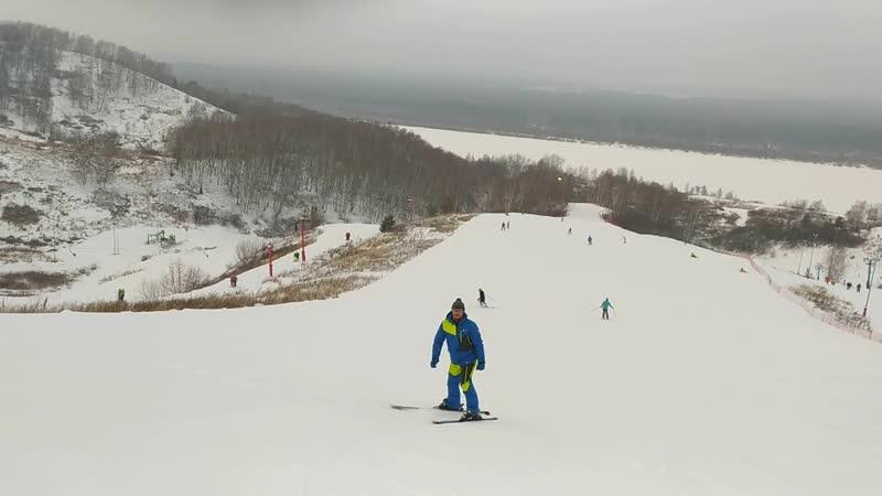 Горные лыжи против гравитации или обратная тяга вверх