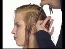 Короткая женская стрижка мастер-класс. Short haircut womens master class