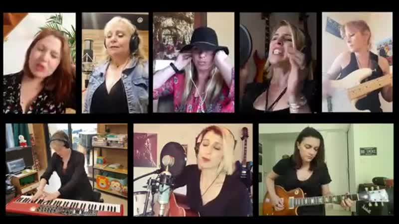 Rival Sons Shooting Stars Cover By Gaelle Buswel Friends Lock down Session