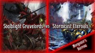 Age of Sigmar Battle Report: Soulblight Gravelords vs Stormcast Eternals