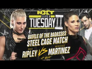 Rhea Ripley VS Mercedes Martinez
