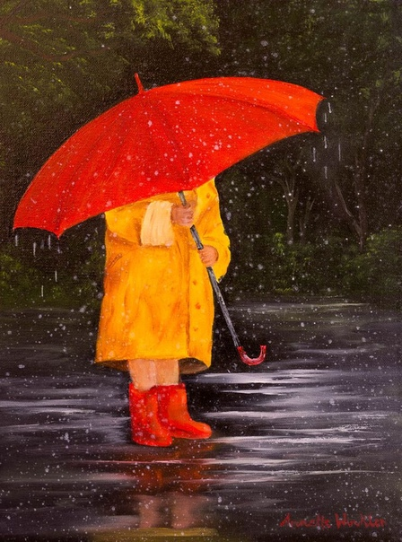 ЯРКАЯ ОСЕНЬ Я иду по осенней улице,вернее, гуляю с дождём -жёлтые листья паркуются,прощается с ними клён.Лужи кругом, как реки,ботинки, как корабли,а мои друзья человекиостались где-то