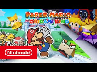 Paper Mario: The Origami King выходит 17 июля! (Nintendo Switch)