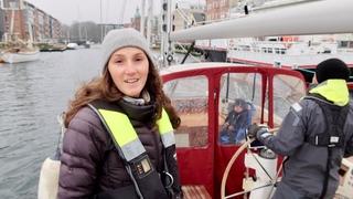 Winter Sailing at Latitude 55 North - Ep. 236 RAN Sailing