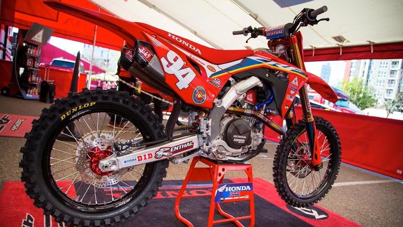Racer X Films Keefer 2020 SX Bike Inspections Friese Roczen's Hondas