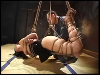 Shibari session