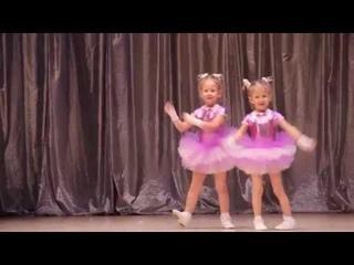 """Танец """"Две подружки"""", Сёстры Такиевы, студия Антарио"""