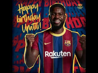 🥳 Happy birthday, Umtiti! 🇫🇷
