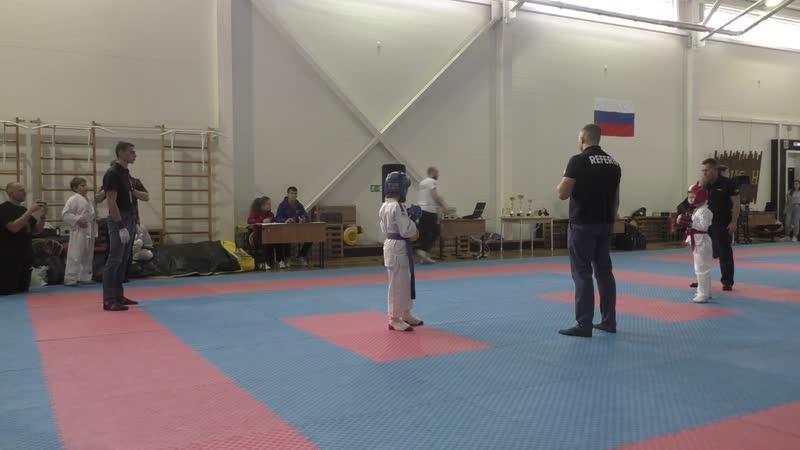 Косарев 1 поединок
