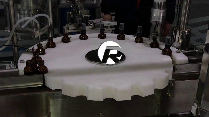 Monoblock 60ml Glass Dropper bottle Filling Capping Machine